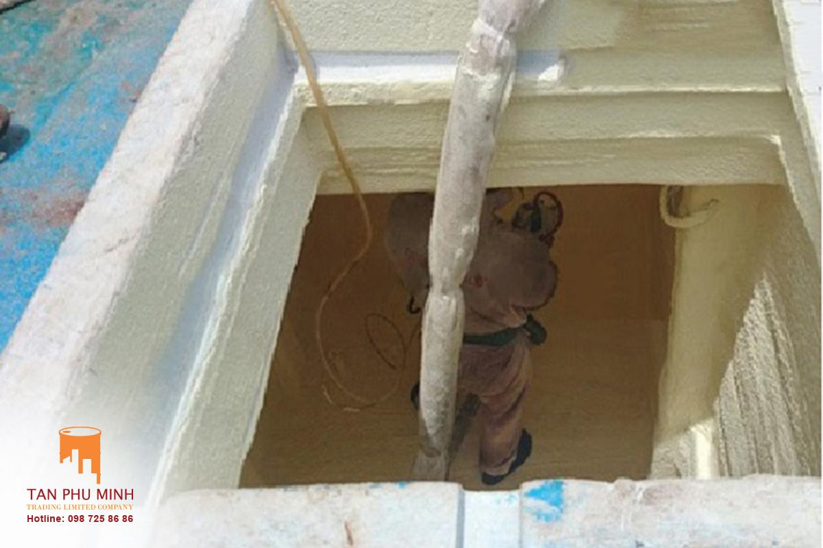 cách nhiệt hầm bảo quản