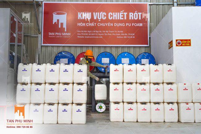 MUA LẺ HÓA CHẤT ISOCYANATE (MDI) VÀ POLYOLS ở Hà Nội, HCM