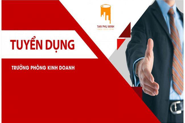 [HÀ NỘI] TUYỂN TRƯỞNG PHÒNG KINH DOANH