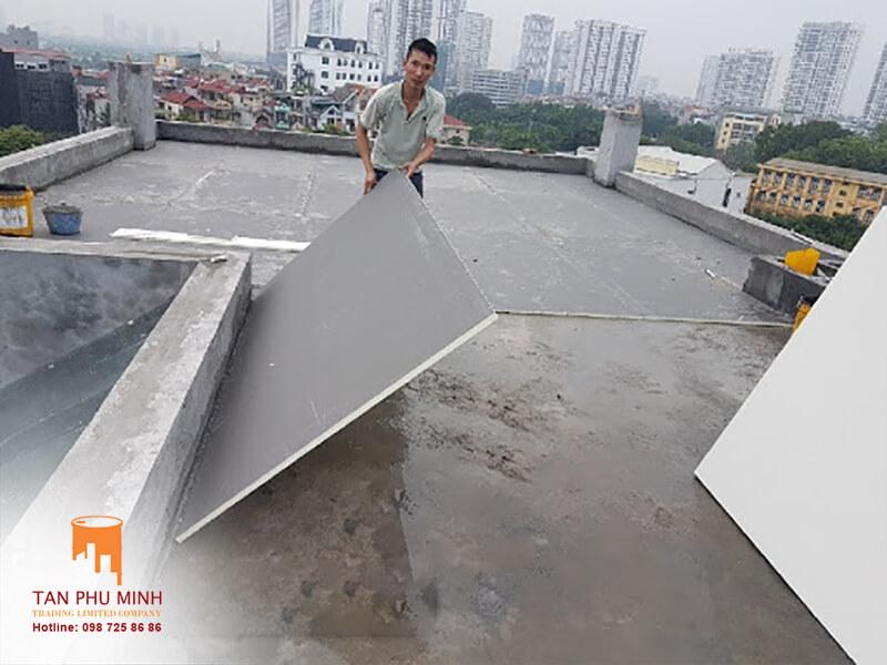Tấm chống nóng sân thượng
