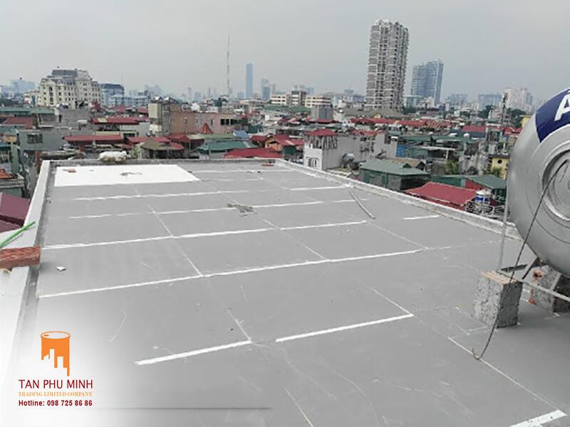 xốp chống nóng mái bê tông