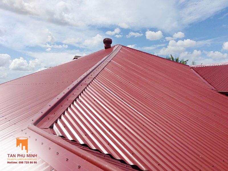 tấm lợp chống ồn cho mái tôn